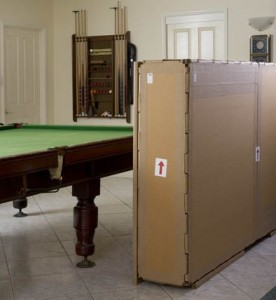billiard table crate for overseas transport