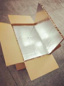 Aluminium insulation