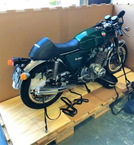 Cruiser Motorbike Boxed for Export