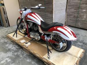 Cruiser Motorbike Crating