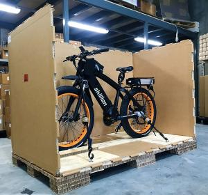 Electric Bike Skillion Crated for Transport