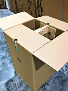 High Strength Cardboard Box with internal support for hanging