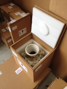 Ceramic crate