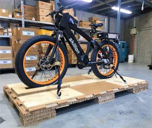 Crating a Skillion Electric Bike for Transport
