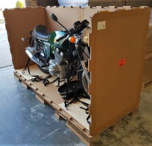 Cruiser Motorcycle Box for Freight