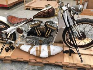 Vintage Motorcycle Crating