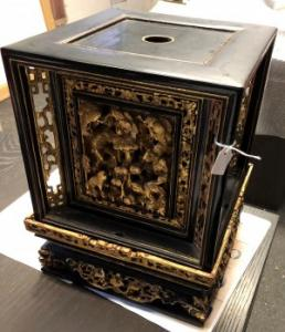 ornate timber box