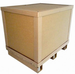 Rebul Hybrid Box with pallet feet